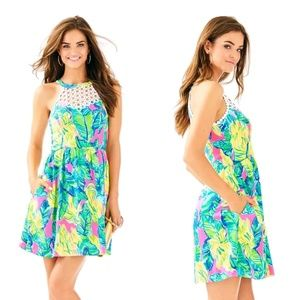 Lilly Pulitzer local flavor sunset Kinley dress